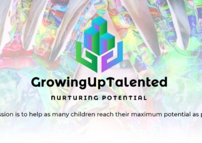 Growing Up Talented – Web Design Project