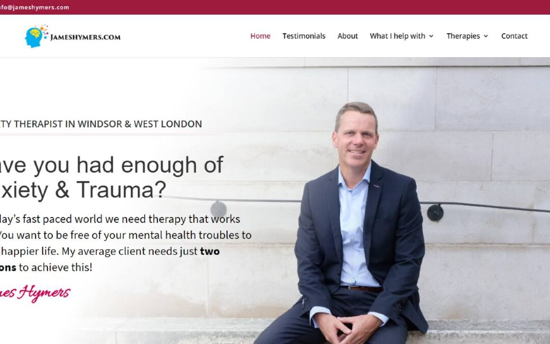 James Hymers – Web Design Project